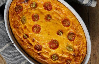 Flan aux carottes et aux tomates cerises et Perrine cuisine sur Instagram