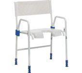 Le confort et la sécurité sous la douche avec les chaises, fauteuils et tabourets de douche. AVS MED