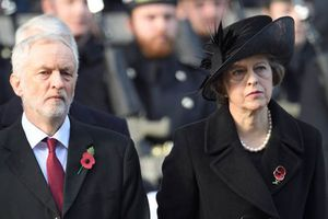 Could Jeremy Corbyn overtake Theresa May?