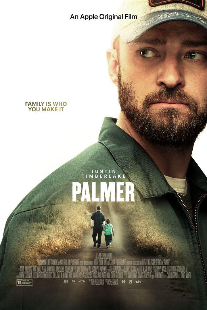 Palmer (Apple TV+) de Fisher Stevens avec Justin Timberlake, Juno Temple, June Squibb, Dean Winters, Alisha Wainwright, Wynn Everett, Ryder Allen et Jesse C. Boyd.