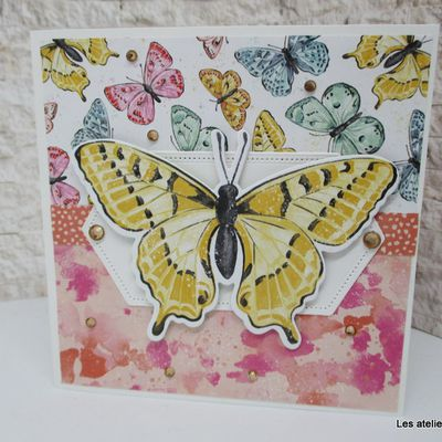 """Bouquet de papillons"" chez Stampin'Up!"