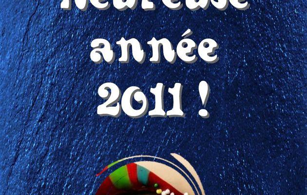 Belle et heureuse année 2011 !