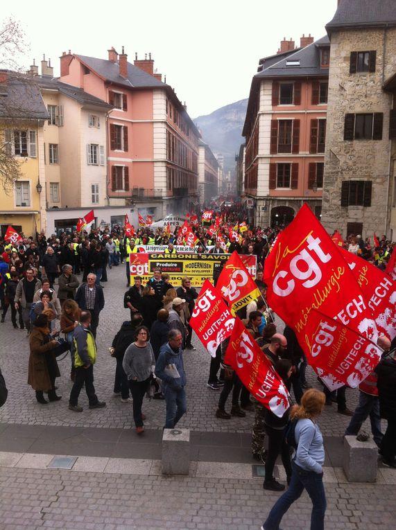 Manif du 31 mars 2016 Chambéry