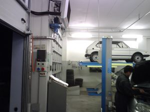 Impianto elettrico, antifurto, rete dati - Officina meccanica
