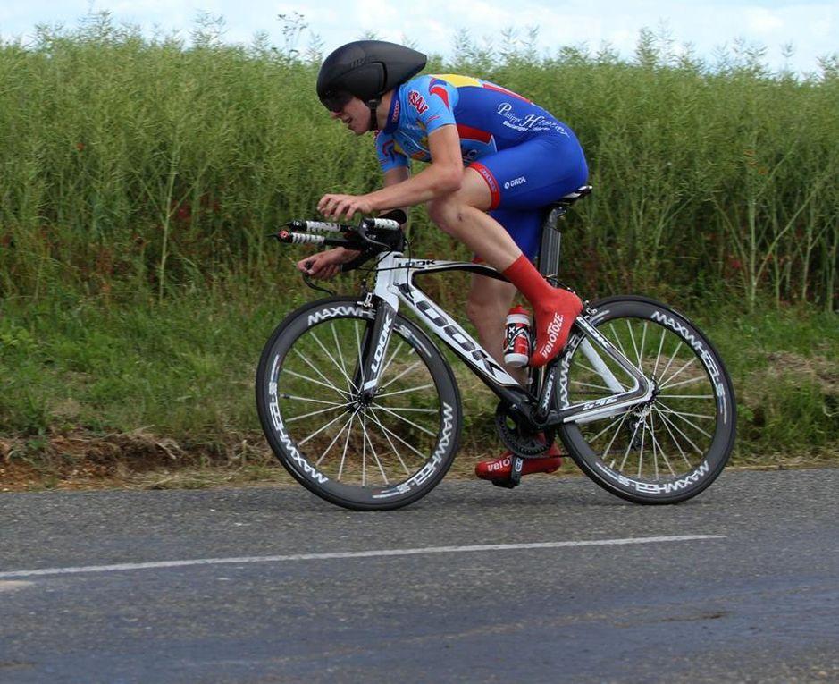 Album photos du championnat régional de contre la montre de Pierres (28) sur le circuit de 20.85 kms
