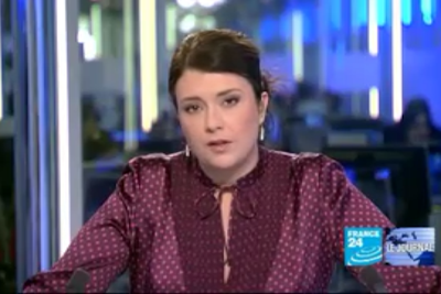 2012 01 11 @06H00 - AUDREY RACINE, FRANCE 24, LE JOURNAL