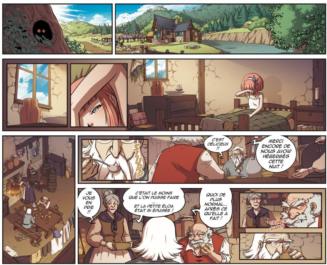 Mais qu'à fait Éloa et avec quels pouvoirs/armes dans le tome 1 Les Légendaires - Résistance ?