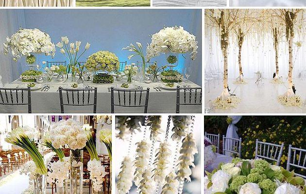 Décoration de mariage champetre: la nature au rendez vous