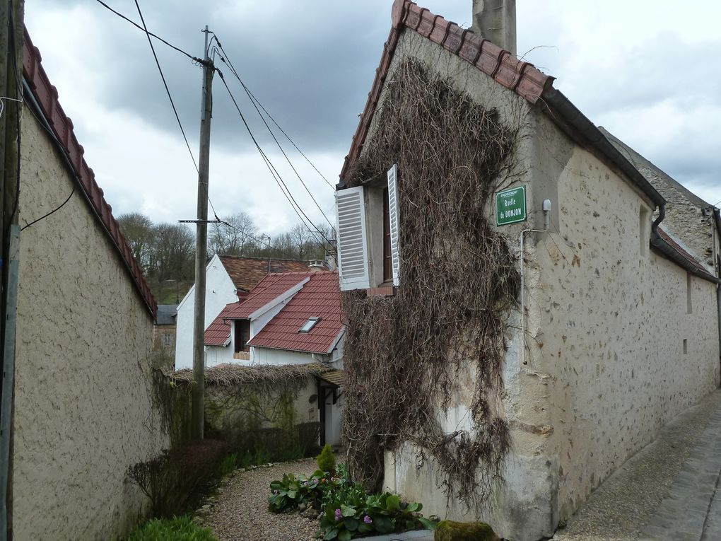 Randonnée de Vernouillet à Meulan-Hardricourt, 17 km.