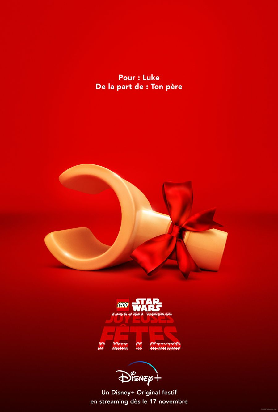 « The LEGO Star Wars Holiday Special » en exclusivité sur Disney+ dès le mardi 17 novembre.