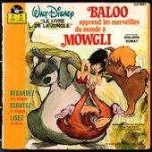 Baloo apprend les merveilles du monde à Mowgli - 1979 - l'oreille cassée