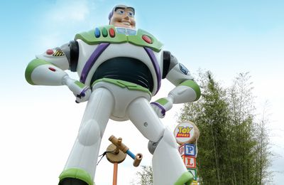 Chantier Toy Story Playland