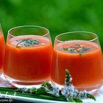Gaspacho Poivron Rouge et Pastèque