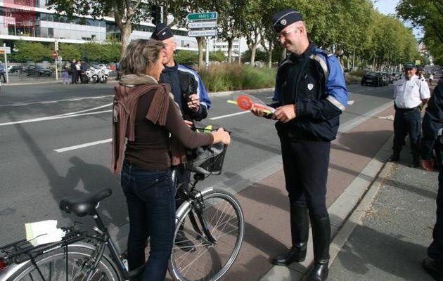 Infractions à vélo : attention aux contraventions systématiques