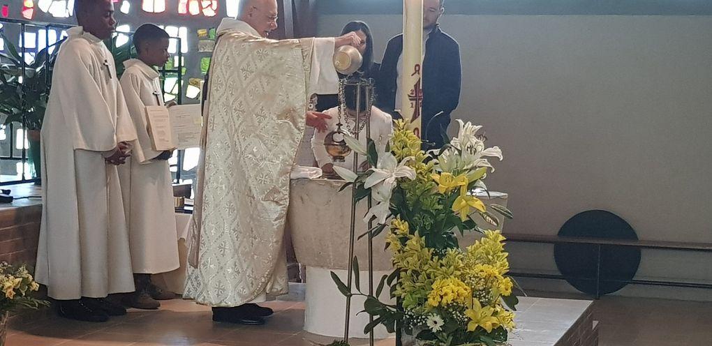 C'est Pâques. Christ est ressuscité...