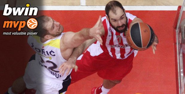 Top 16, bwin MVP: Vassilis Spanoulis is back!