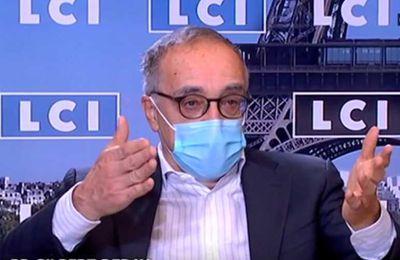 """Pr. Gilles Deray sur LCI : «"""" Si on ne vaccine pas les enfants,...ils vont nous fabriquer des variants qui vont tuer des grand-pères, des pères, des mamans et les grand-mères».(Vidéo)"""