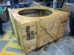 Un cache pot taille XXL