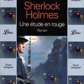 Sherlock Holmes -Une étude en rouge. Arthur Conan Doyle - 1995 - VIVRELIVRE