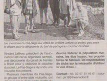 Défi Canal, un projet de navigation pour un plus grand nombre, dans la presse locale  !