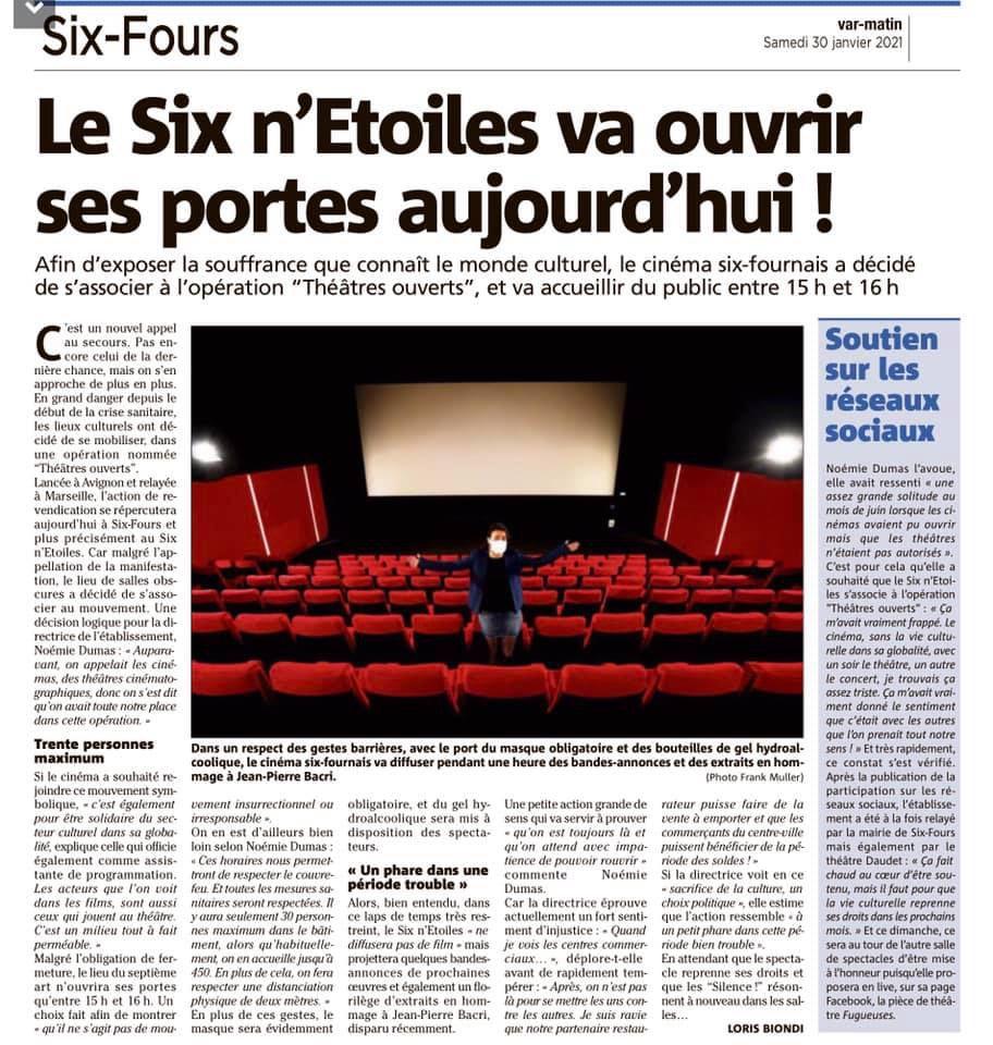 La culture libre de Canet-en-Roussillon à Six-Fours-la-Plage un bon clap dans la face du maire de Prades!