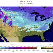 USA : Début d'une ère glaciaire sur le nord de l'Amérique - MOINS de BIENS PLUS de LIENS