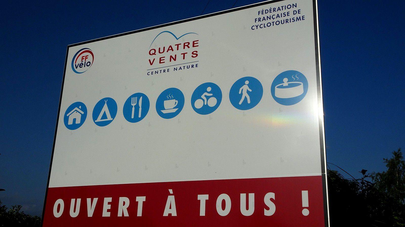 """Vacances en Auvergne """"Aux 4 vents""""."""