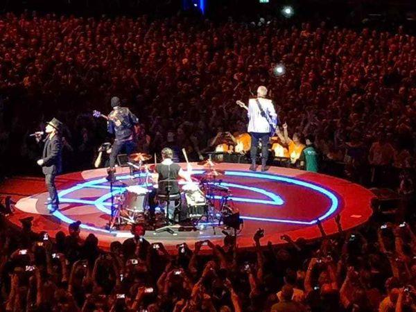 U2 -Amsterdam -Pays-Bas -07/10/2018 -Ziggo Dome
