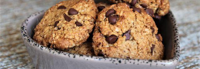 Cookies aux pépites de chocolat IG bas