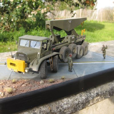 ​  Willème C.G. 8x4 Ramasse-miettes  (Fan Kit - 1/50 - par Yann  B.) ​