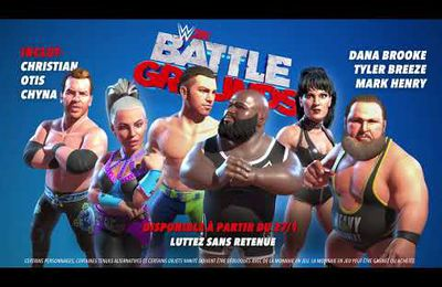 [ACTUALITE] WWE 2K Battlegrounds - Chyna, Mark Henry, Christian, Dana Brooke, Otis et Tyler Breeze