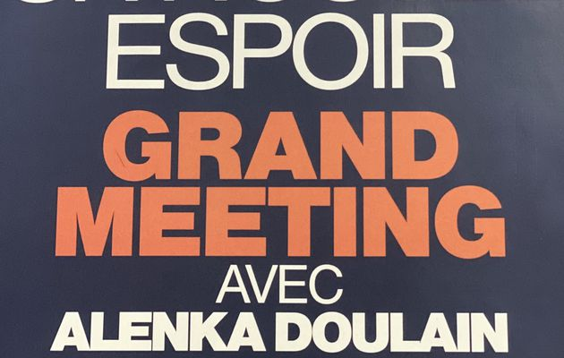 GRAND MEETING #NousSommes avec Alenka Doulain