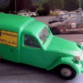 CITROEN 2CV COMMERCIALE TEPPAZ ELECTROPHONES NOREV 1/43 - car-collector.net
