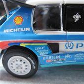 FASCICULE N°9 PEUGEOT 205 TURBO 16 1988 KANKKUNEN PIIRONEN NOREV 1/43 - car-collector.net