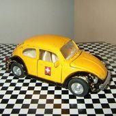 VW COX SWISSPOST LA POSTE SUISSE WELLY 1/32 VOLKSWAGEN COCCINELLE PTT - car-collector.net
