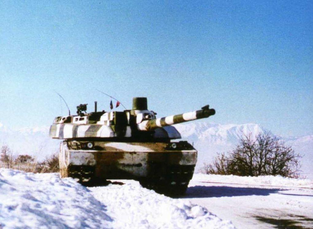 Le char à l'échelle 1