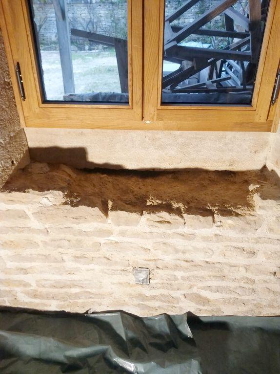 Travaux de rénovation du Bûcher du village de Beaulieu (21)