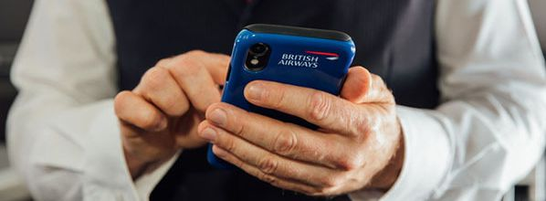 At your service : British Airways invests in latest mobile technology