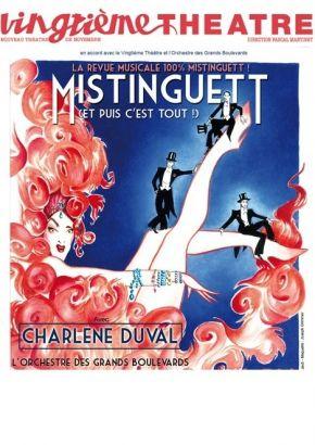 MISTINGUETT (ET PUIS C'EST TOUT !) au Vingtième Théâtre