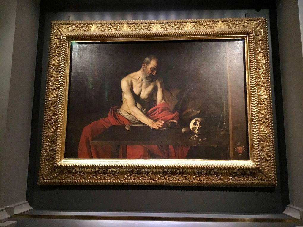 Michelangelo Merisi da Caravaggio, St Jerome writing