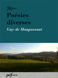 Au bord de la mer - poème de Guy de Maupassant