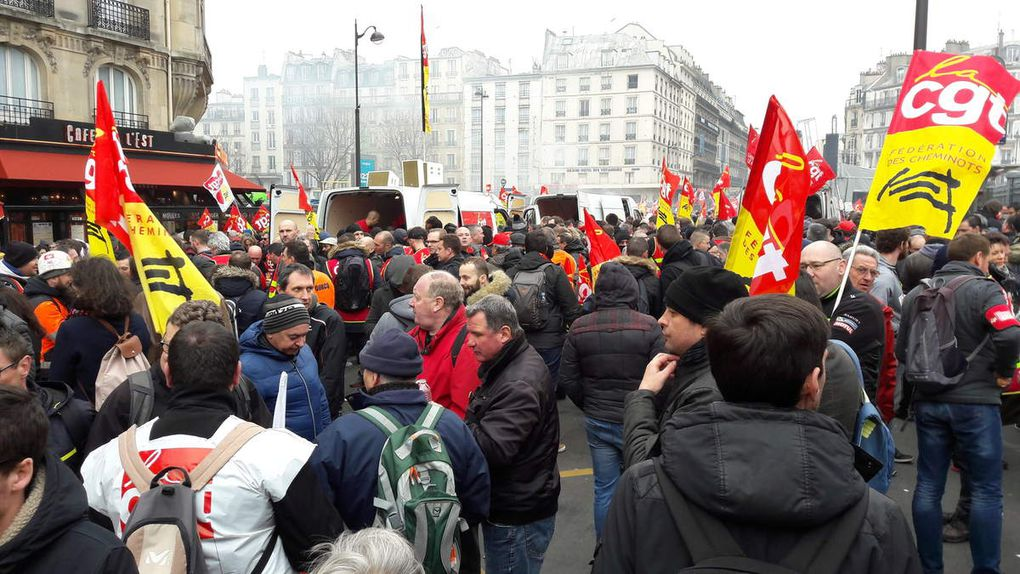 Manifestation du 22 Mars 2018