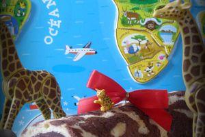 Roulé girafe pour une mini Chocolatine