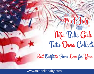 Mia Belle Girls 4th of July Tutu Dresses to Wear this Independence