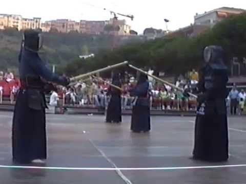 1ère Démonstration de Kendo à Monaco (91&92)
