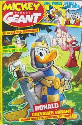 Donald chevalier errant égaré dans les couloirs du temps