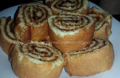 Biscuit roulé ou Genoise couchée