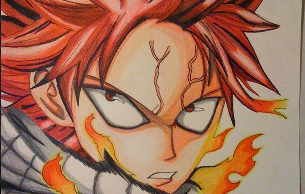 Natsu le dragon de feu