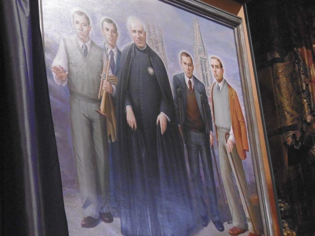 Valentín, Donato, Germán, Zacarías y Emilio. Beatos mártires