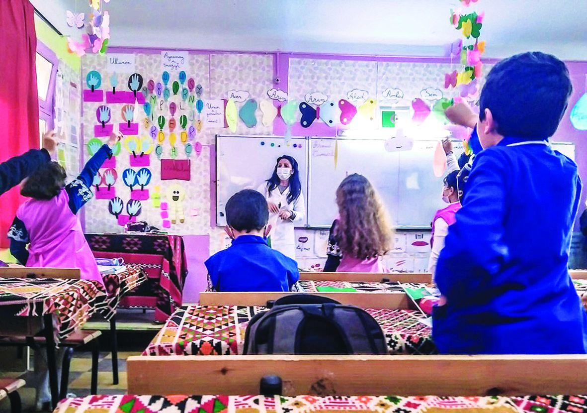 A Témouchent, 120 classes abritent des cours de tamazight. Photo DR
